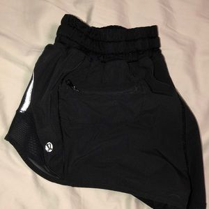 Lululemon Black Workout Shorts
